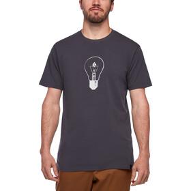 Black Diamond Idea Maglietta a maniche corte Uomo, grigio